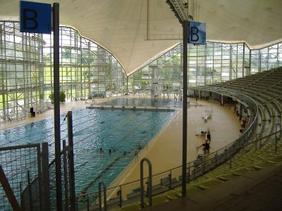 Estilos natacion olimpicas for Piscina olimpica medidas