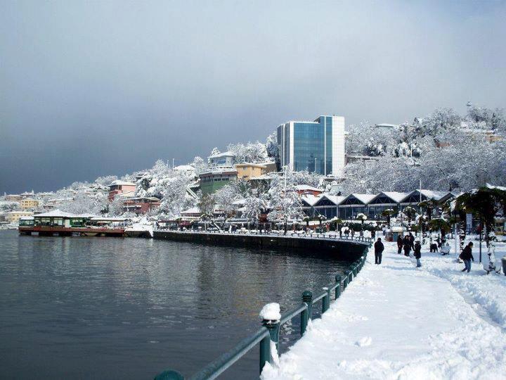 Zonguldak'ta kış