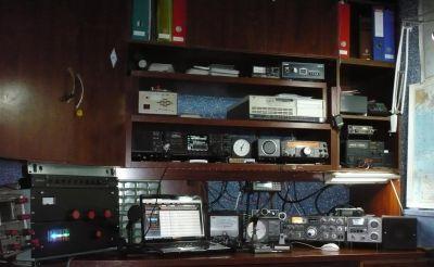 en esta imagen se puede cer mi cuarto de radio