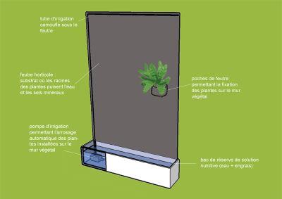 mur v g talis. Black Bedroom Furniture Sets. Home Design Ideas