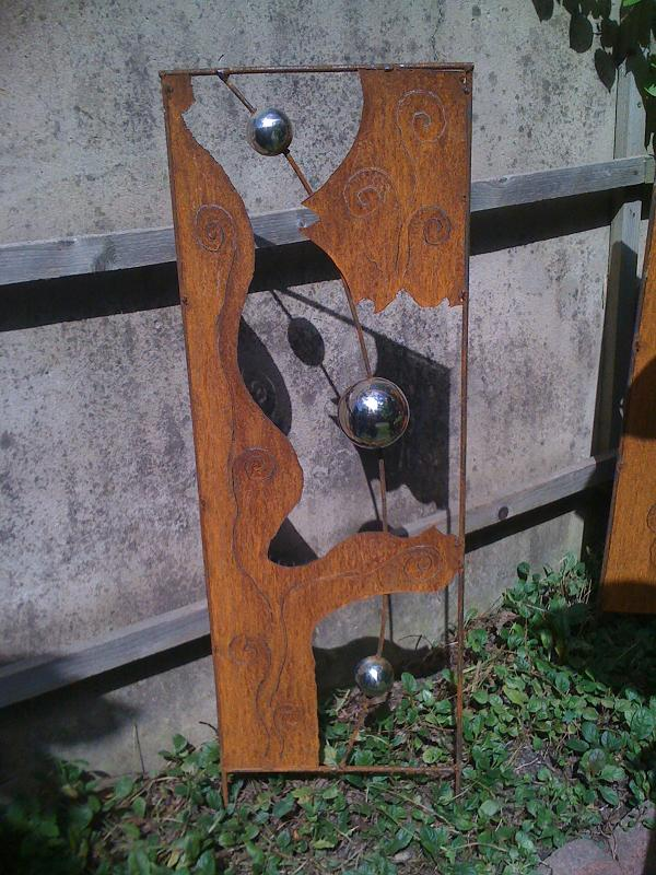 Edelrost design edelrost skulpturen for Edelrost skulpturen garten