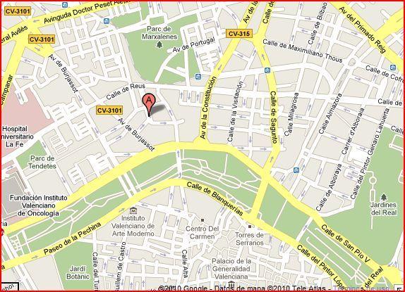 ACADEMIA COLORINS - Mapa