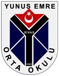 sivas, yunus emre orta okulu, logo, marşı