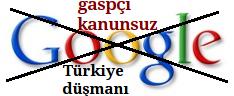 google boykot, googlea hayır