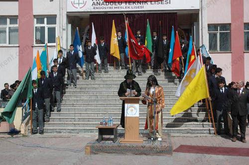 nevruz töreni formatı, Nevruz Töreni Programı, okullarda, lise
