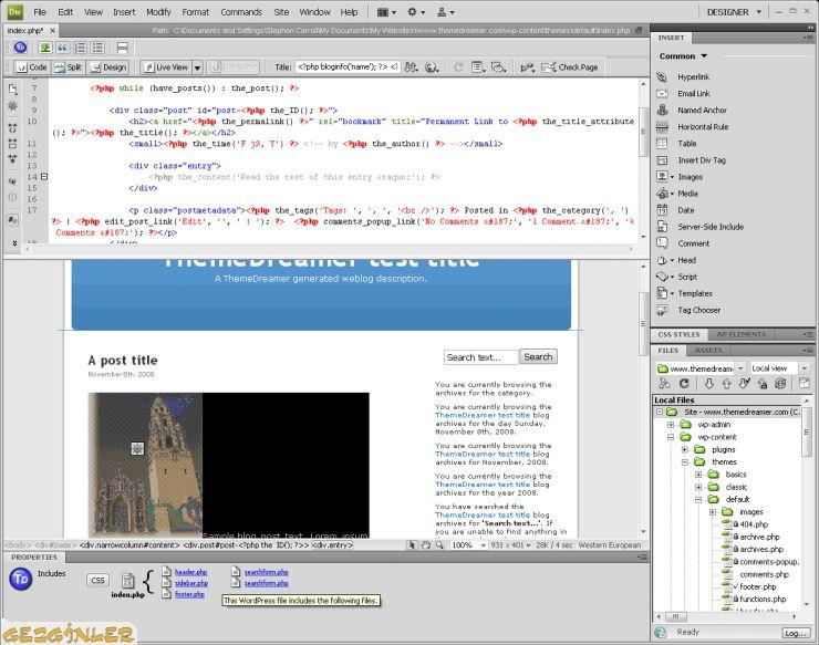 Adobe Dreamweaver CS5.5 11.5 Screenshots.