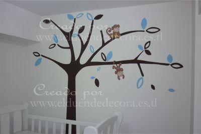 Decoracion para bebes lima peru murales para bebes - Murales para habitaciones de bebes ...