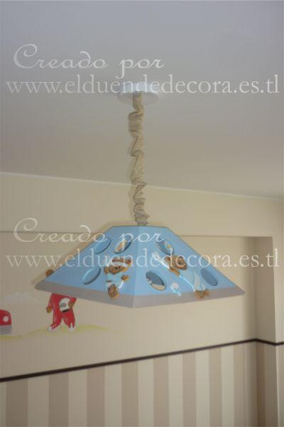 Decoracion para bebes lima peru l mparas de techo - Lamparas de techo para ninas ...