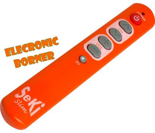 T l commande universelle seki slim orange neuf ebay - Pile telecommande orange ...