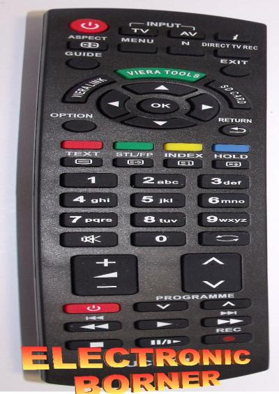 Ersatz Fernbedienung für Panasonic N2QAYB000490 ...