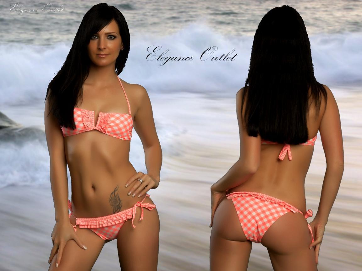 neu damen neckholder bandeau bikini in v ausschnitt mit. Black Bedroom Furniture Sets. Home Design Ideas