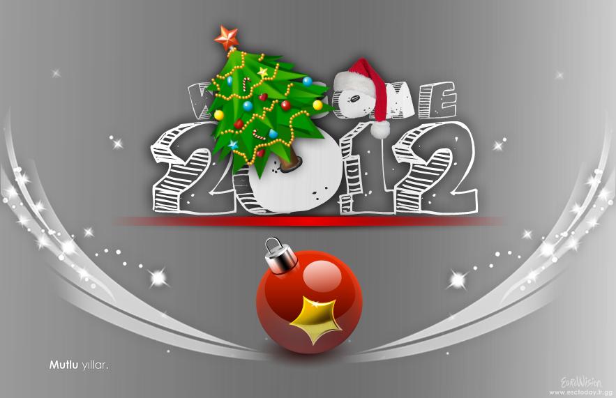 İlk Yeni Yıl (Welcome 2012) çalışmam