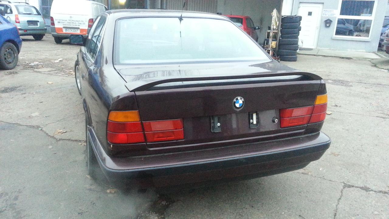 520i 5er bmw e34 520 i benzin limousine baujahr 1990 t v for Euro automobile