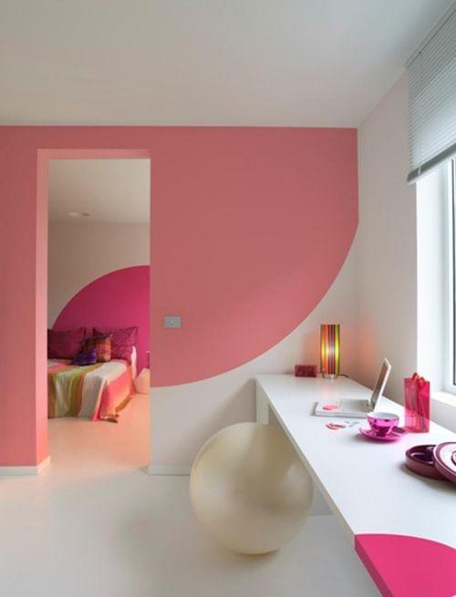 wand rosa streichen ideen verschiedenes interessantes design fr wohnzimmer design - Wand Rosa Streichen Ideen