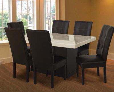 Fabrica de salas monterrey comedores for Comedor de marmol 8 sillas precio