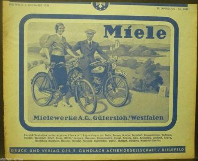 Fahrrad Merlin Historische Werbung