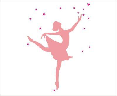 Fantasy Deco Vinilos Decorativos Bailarinas Ballet