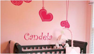 Fantasy deco vinilos decorativos cuarto del bebe - Vinilos para habitacion nina ...