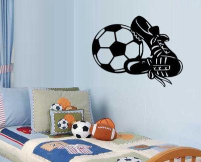 Fantasy deco vinilos decorativos futbol for Vinilos para chicos