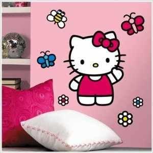 Fantasy deco vinilos decorativos hello kitty for Vinilo hello kitty