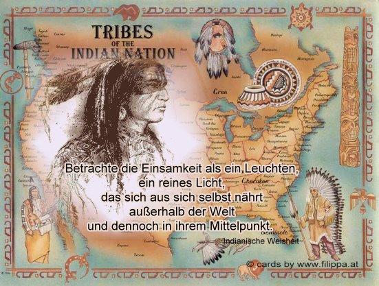 Sprüche Und Weisheiten Von Indianern   deutsch sprechen