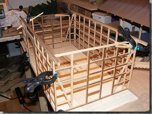 Fachwerkhaus 1 32 for Fachwerkhaus bauen