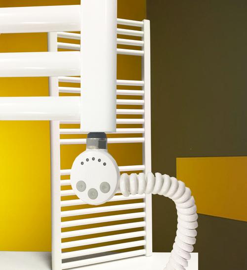 elettrico Radiatore da bagno MORA 1022 x 500 mm. Bianco puro Scalda asciugamani  eBay