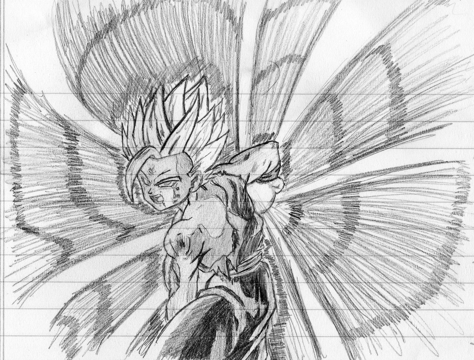 Imagenes De Dragon Ball Z Dibujo A Mano