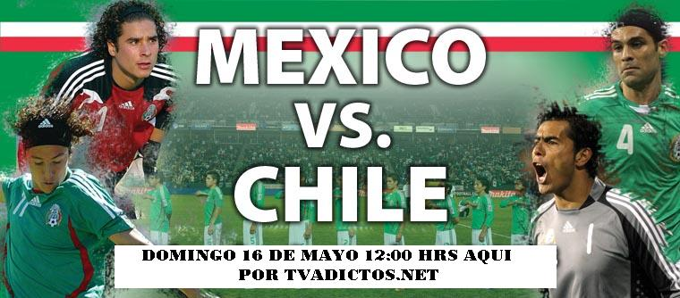 Mexico vs Chile en vivo online