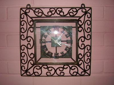 Fierro forjado esteban quinteros m relojes murales fabricados artesanalmente en fierro forjado - Fierro forjado santiago ...