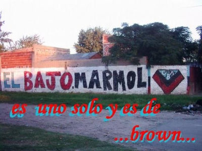 Club atletico brown de adrogue. mi homenaje