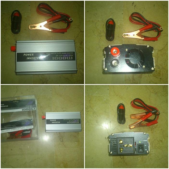 Inversor transformador de corriente de 1000w nuevo 12v for Transformadores de corriente 220v a 12v