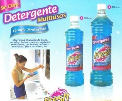 formula limpiadores desinfectante etc: