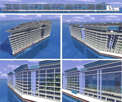 Futuristic Technology 29 Floating City