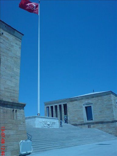 anitkabir bayrak turk
