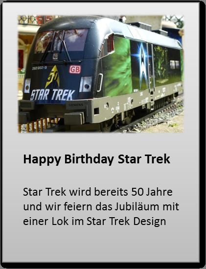 50 Jahre Star Trek, Werbelok Taurus Star Trek