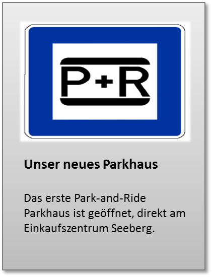Park and Ride Seeberg