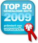 Top 50 Genealogie Websiten - www.verwandt.de