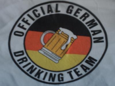 Das official german-drinking-team.  Der etwas andere Stammtisch!