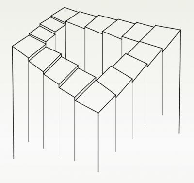 endlose treppe bilder 200. Black Bedroom Furniture Sets. Home Design Ideas