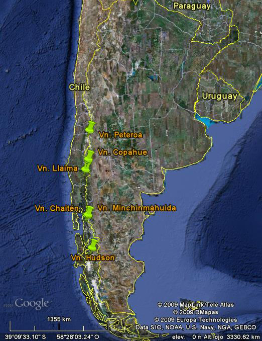 GEVAS - Volcanes Chile - Argentina