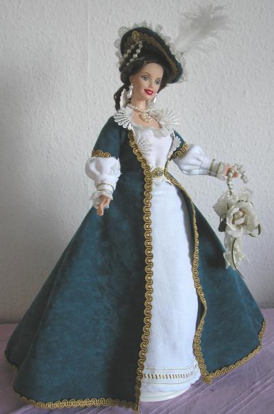barbie gewand