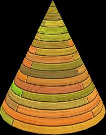 cône 3d