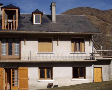 Gite la bergeronnette l 39 ext rieur et le paysage hivernal for Paysage interieur exterieur