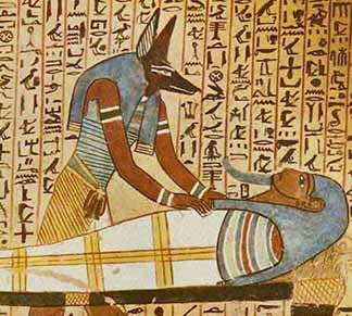 Anubis and Osiris