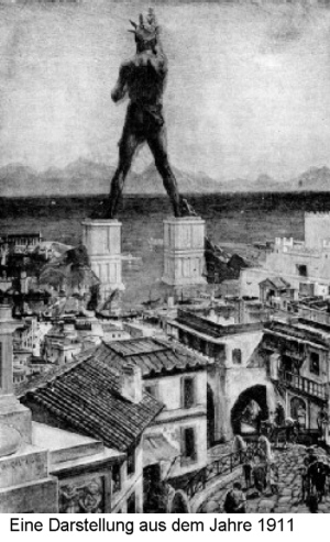 Rodos Heykeli, Colossus of Rhodes