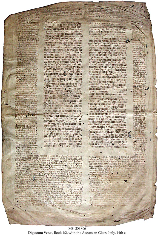 Roma Hukuku, The Roman Codex, The Roman Law