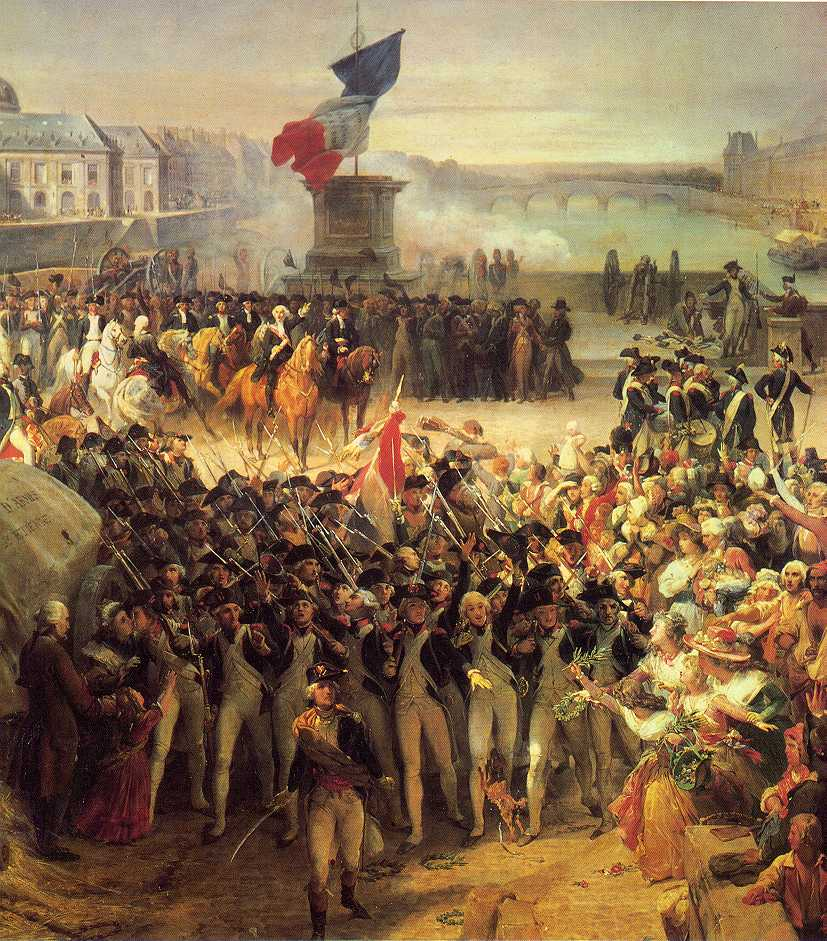 Two music videos about the french revolution