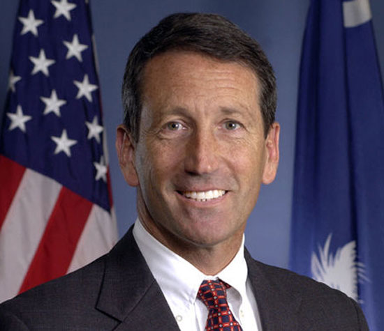 Mark Sanford, Sanford Headshot