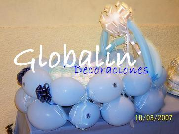 Decoracion con Globos - Baby Shower